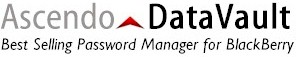 BlackBerry Passwort Manager - Ascendo DataVault