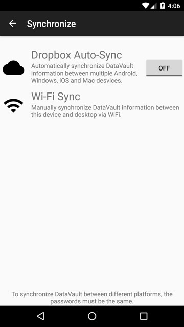 User Guide - DataVault Password Manager for Android